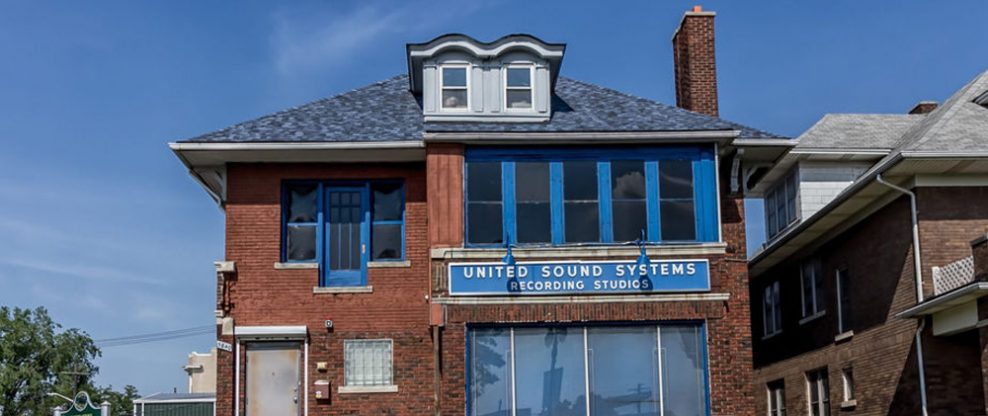 Detroit's United Sound Systems Studio Listed for $1.5M After Facing Demolition