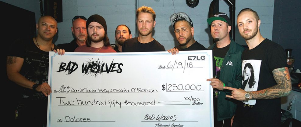Bad Wolves Donate $250,000 To The Family Of Late Cranberries Singer Dolores O'Riordan