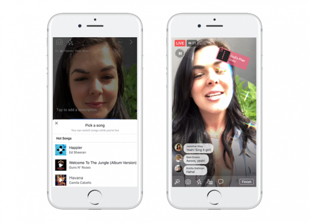 Facebook Launches Lip Sync Live