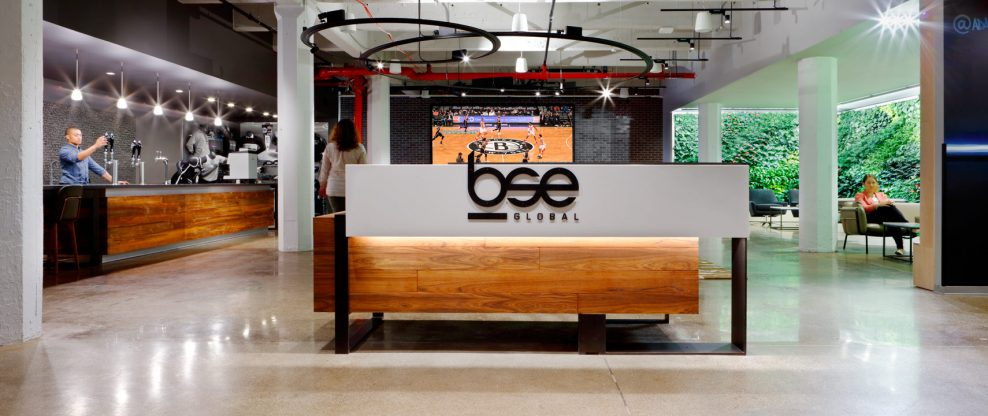 Brooklyn Sports & Entertainment Rebranded BSE Global, Opens Posh Office
