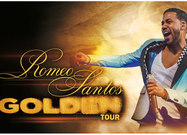 Romeo Santos Announces New Dates For 'Golden' Tour