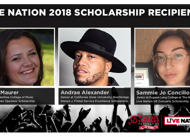 Live Nation Announces Scholarships For Students Pursuing Concert Industry Careers
