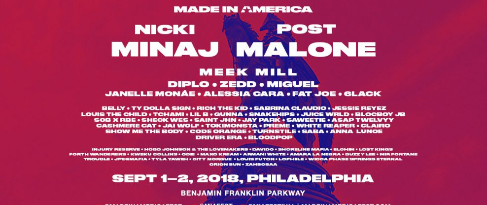 New Headliners Announced For Made In America