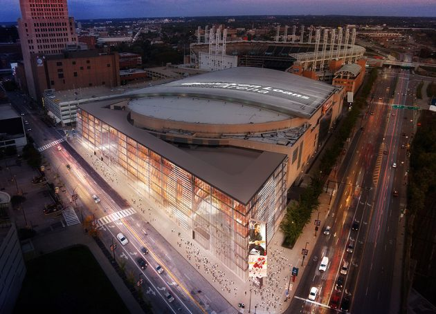 Quicken Loans Arena Goes Dark For A Refit