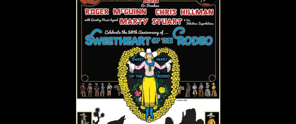 Roger McGuinn, Chris Hillman Announce Sweetheart of the Rodeo 50th Anniversary Tour