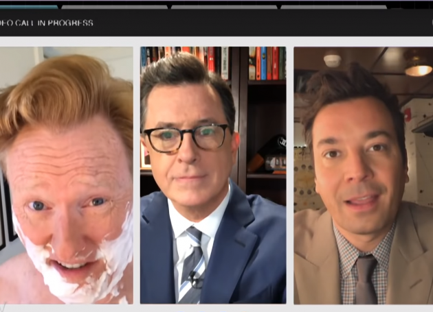 Colbert, Fallon, O'Brien Release Trump Video