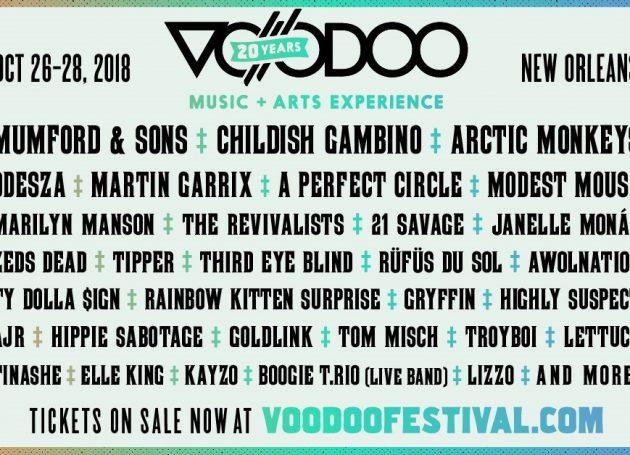 Voodoo Music + Arts Experience