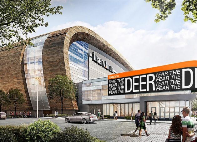 New Milwaukee Arena Now Named Fiserv Forum