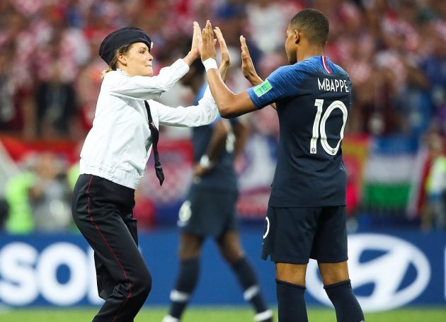 Pussy Riot Claim Responsibility For Pitch Invasion During World Cup Final Game