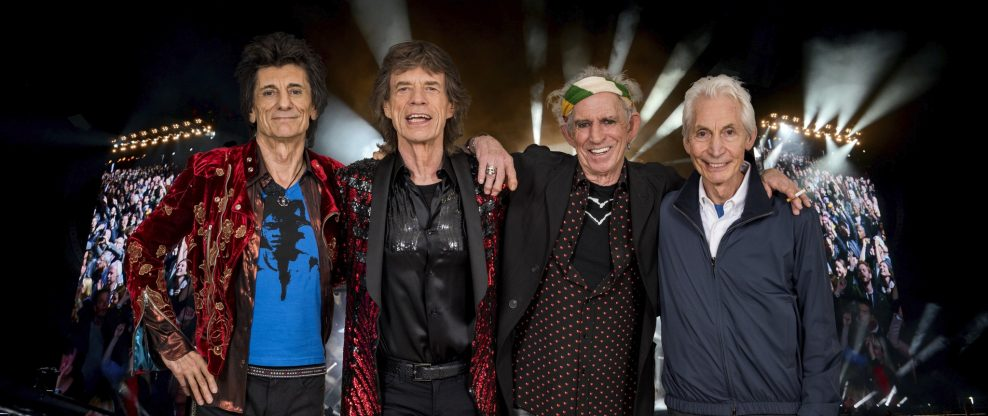 The Stones At The Rose Bowl