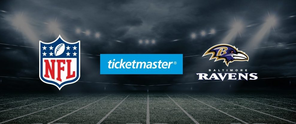 Ticketmaster, Baltimore Ravens Continue Their Agreement From 1996