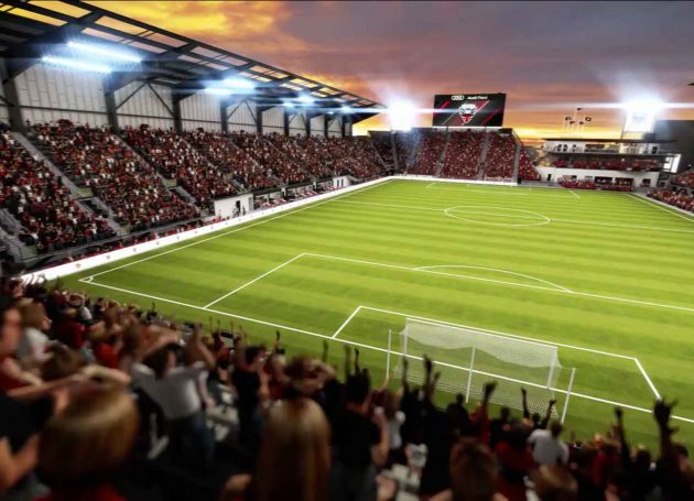 DC United Prepares For Audi Field Debut