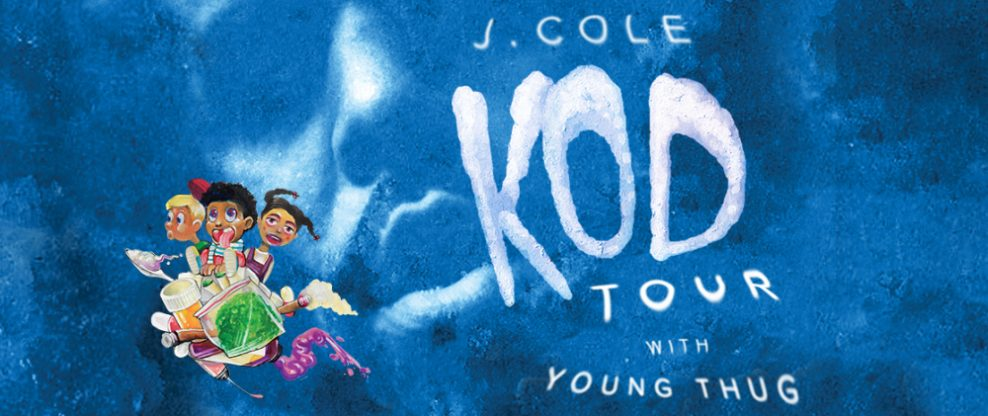 J. Cole Announces Jaden Smith, Earthgang & Kill Edward As Special Guests On KOD Tour