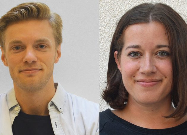 Nate Sokolski and Kristin O'Neill