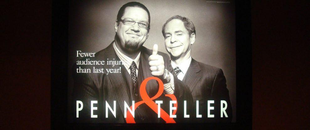 Penn & Teller Cancel A Month Of Shows For Teller's Back Surgery