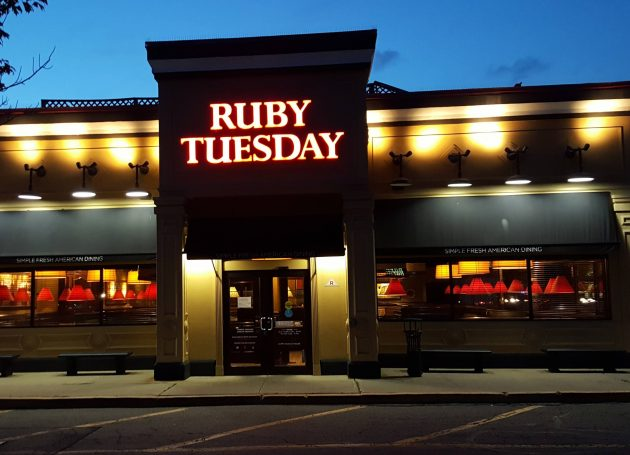Restaurant Ruby Tuesday Sues Band Of Same Name For $2 Million