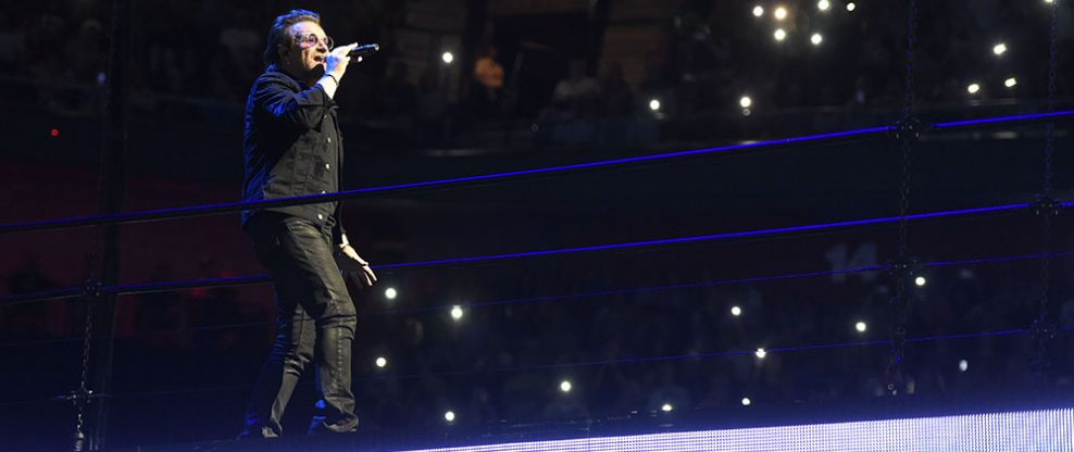 U2 Closes Out North American Run At Mohegan Sun Arena