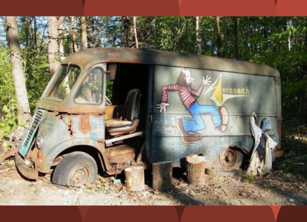 'American Pickers' Find Aerosmith Tour Van