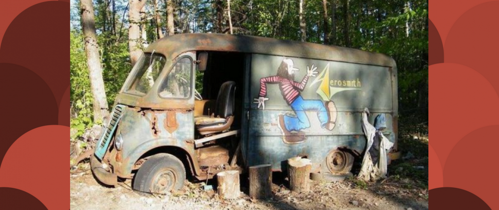 'American Pickers' Find Aerosmith Tour Van
