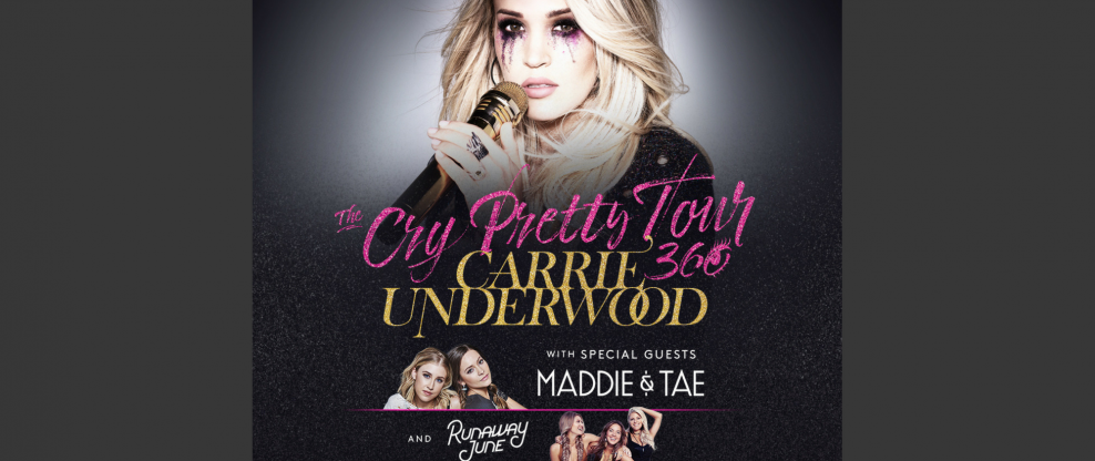 Carrie Underwood Launches All-Female 'Cry Pretty' Tour