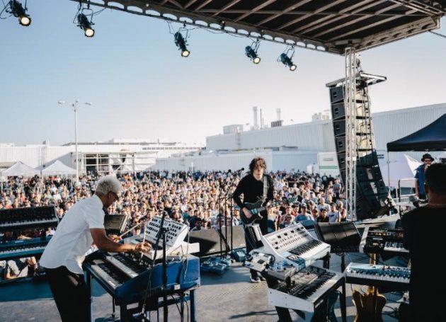 Jack White Plays Surprise Concert At Tesla Plant