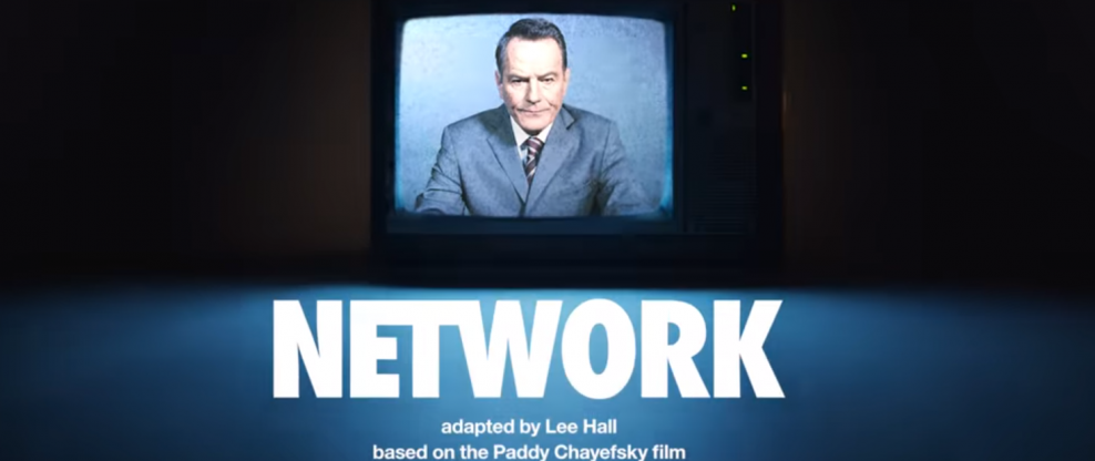 'Network,' Starring Bryan Cranston, Goes To Broadway