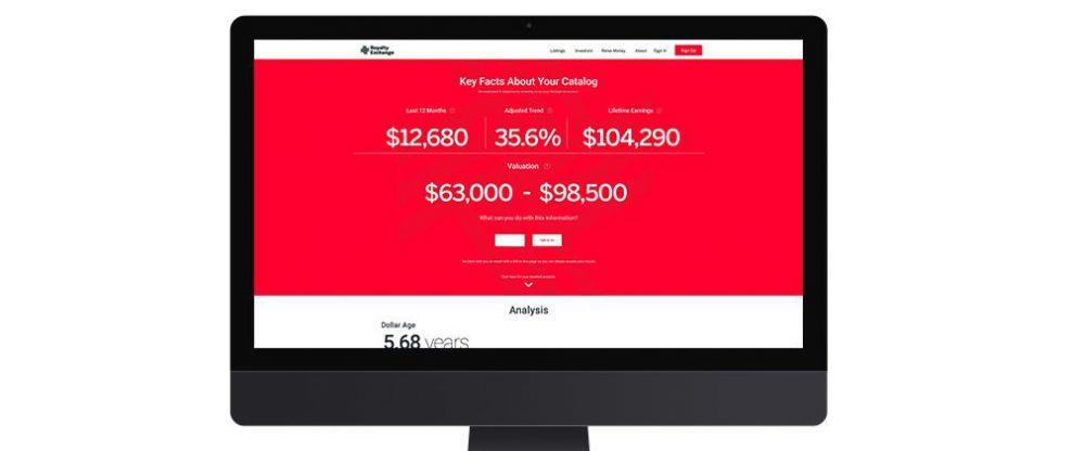 Royalty Exchange Announces Free Catalog Estimator App