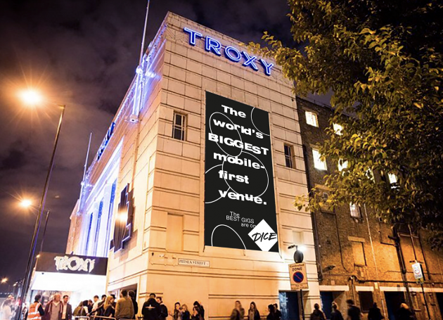 London's Troxy Joins Portfolio Of Mobile Ticketing Company Dice