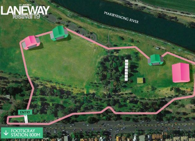 Melbourne's Laneway Festival Reveals New Site For 2019