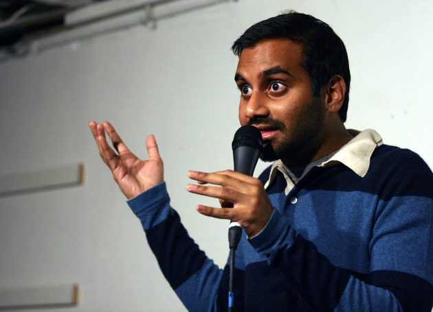 Aziz Ansari Does Comedy Show In The Dark