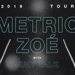 Metric and ZOÉ Announce 2019 Co-Headlining US Tour