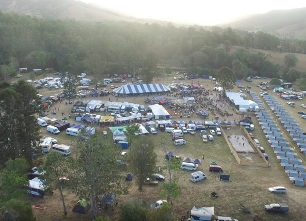 Skydiver Hits Tree At Queensland Blues Fest