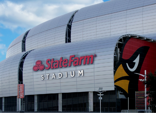 University Of Phoenix Stadium To Be Renamed State Farm Stadium