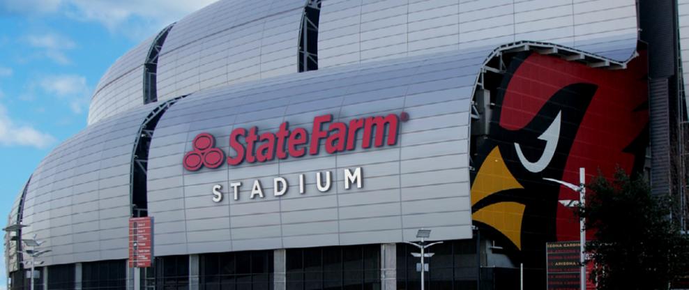 University Of Phoenix Stadium To Be Renamed State Farm Stadium