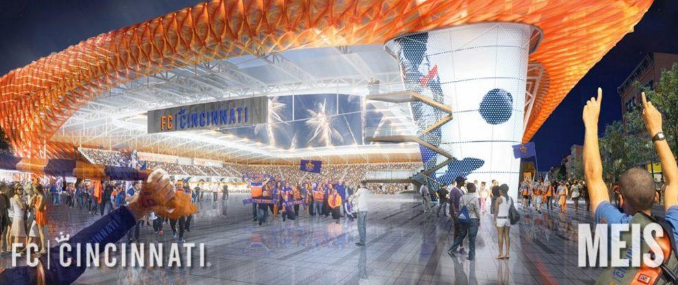 FC Cincinnati Unveils Stadium Design