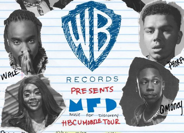 """Warner Bros. Announces """"Music For Discovery"""" HBCU Mobile Tour"""