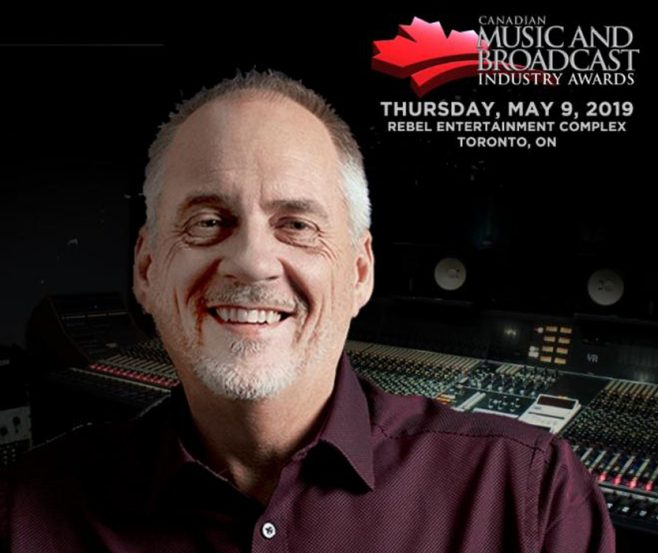 Canadian Music Week Announces Michael McCarty As 2019 Music & Broadcast Industry Hall of Fame Inductee