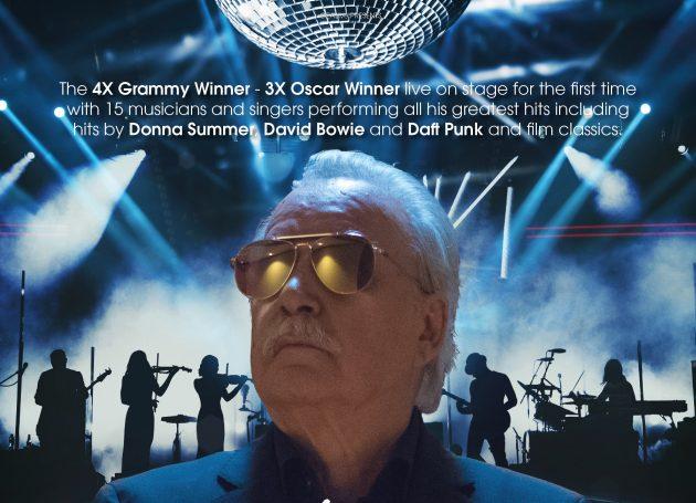Giorgio Moroder Announces First Ever Live Tour