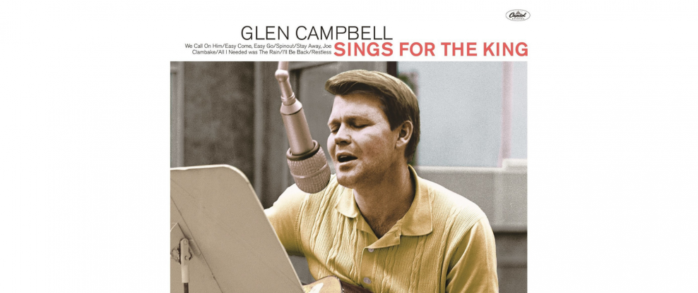 Newly Discovered Glen Campbell Material For Elvis To Be Released