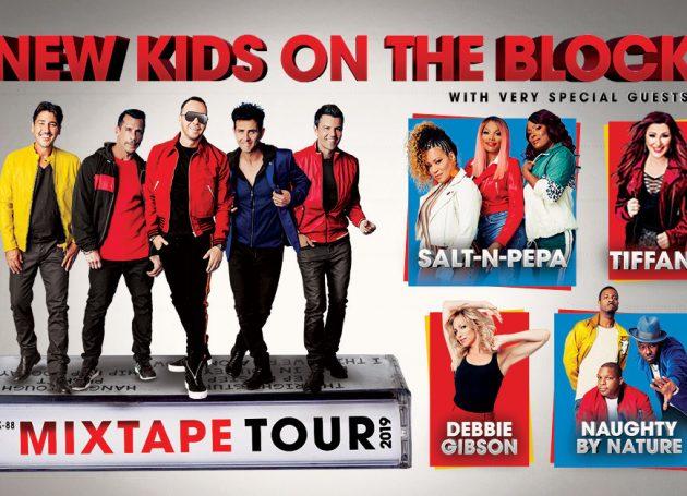 New Kids Announce 2019 Tour