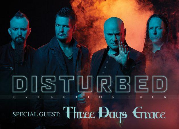 Disturbed Announce 2019 'Evolution World Tour'
