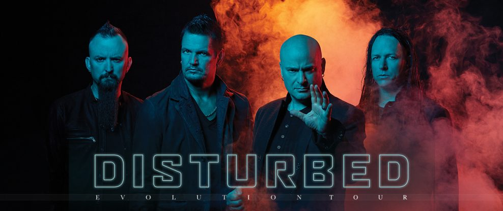Disturbed Announce 2019 'Evolution World Tour'