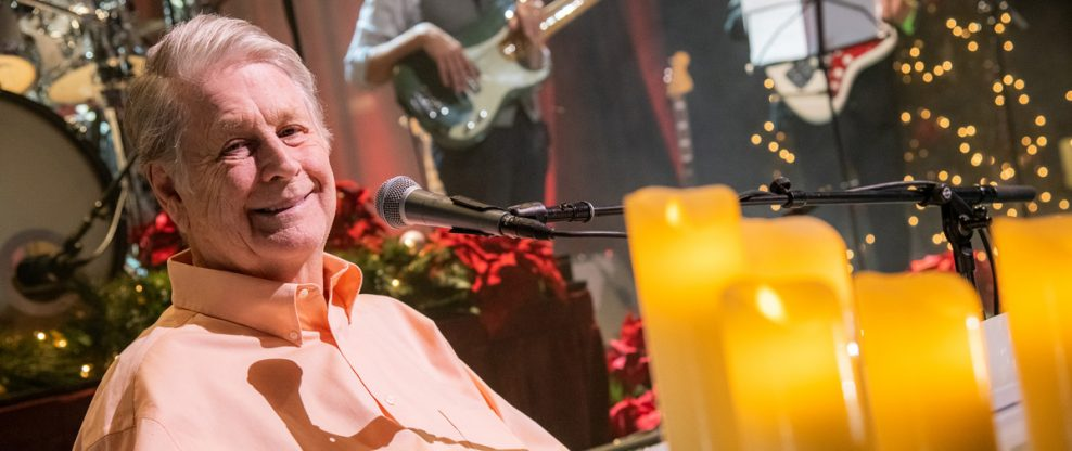Brian Wilson Talks, A Bit, About The Holiday Tour