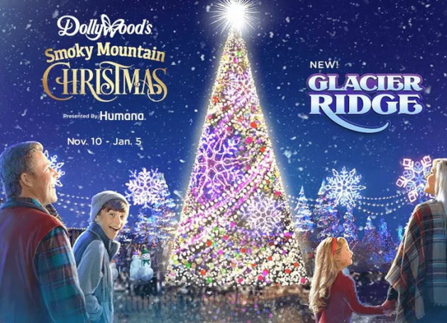 Dollywood Introduces 'Glacier Ridge' Holiday Expansion
