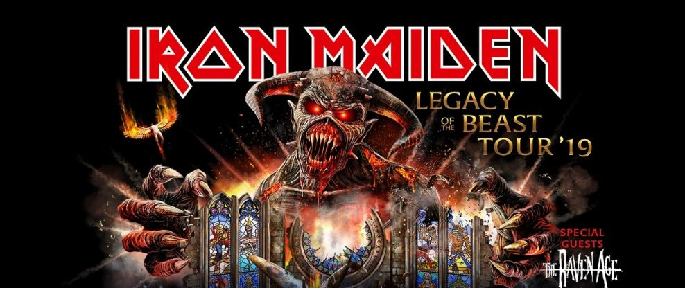 Iron Maiden Comes To The Americas