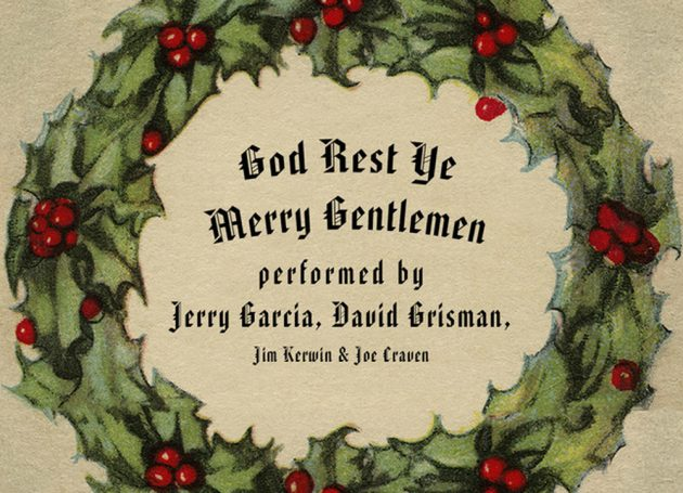 """Jerry Garcia and David Grisman Re-Release Brings """"Tidings of Comfort and Joy"""""""