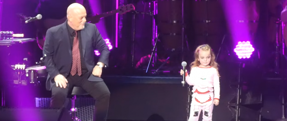 Billy Joel Upstaged By 3-Year-Old Daughter