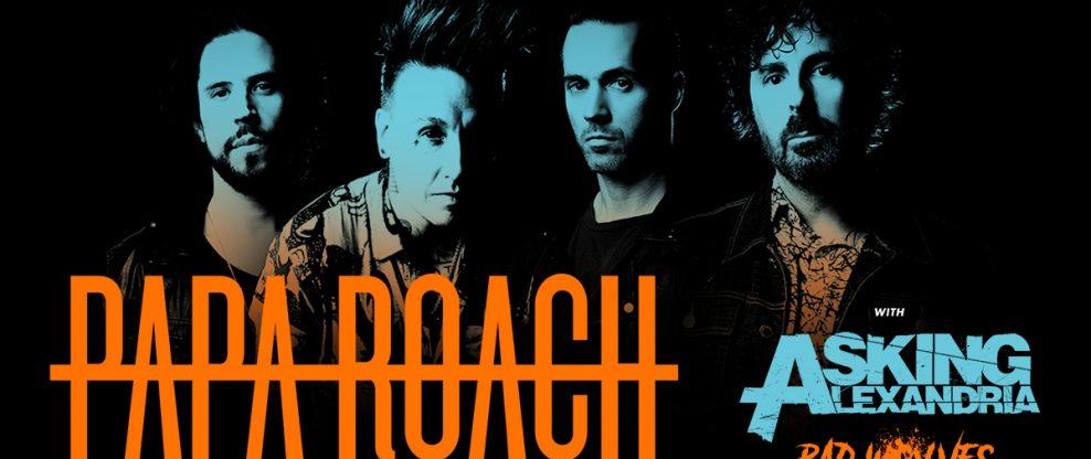 Papa Roach Announces 'Who Do You Trust? Tour'
