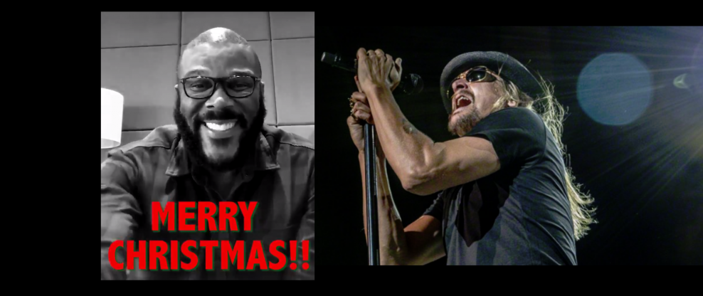 Kid Rock And Tyler Perry Save Christmas (For Walmart Shoppers)