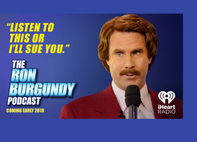 By The Beard Of Zeus, It's The Ron Burgundy Podcast